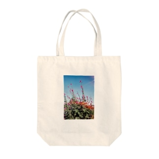 タチアオイ Tote bags