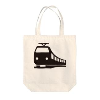 A_train Tote bags
