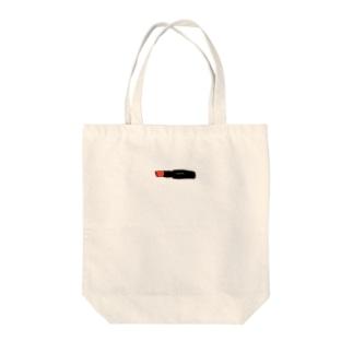 リップスティック Tote bags