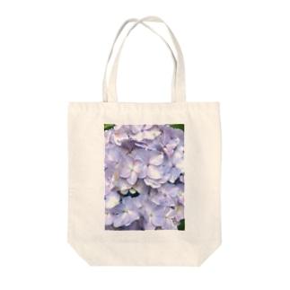 紫陽花の花言葉は移り気 Tote bags