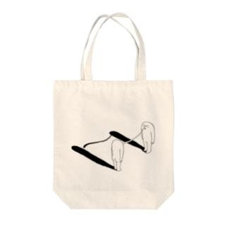 距離(モノクロ) Tote Bag