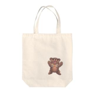 かわいいクマのまさおトートバッグ Tote bags