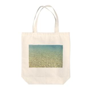 海辺 Tote bags