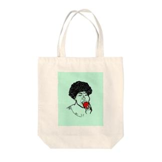 架空人物:きゃんちゃん Tote bags