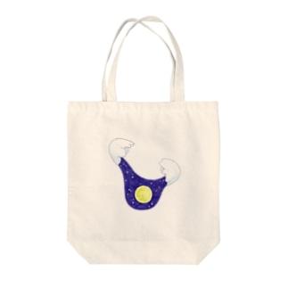 つきみ Tote bags