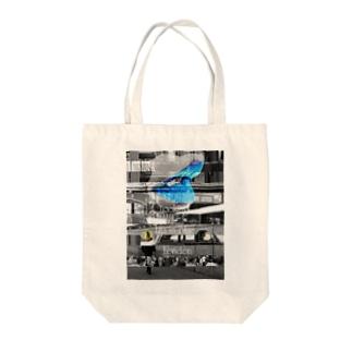 【リッピン・ブルーを探してる】 Tote bags