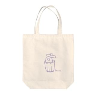 さみしい猫 Tote bags