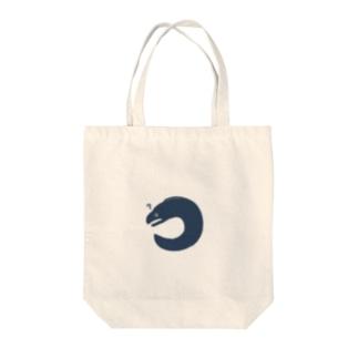 ???なウツボ Tote bags