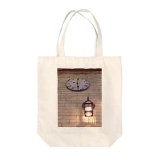 時間-とき-を照らす Tote bags