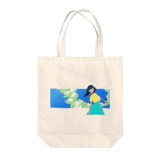 入道雲ガール Tote bags