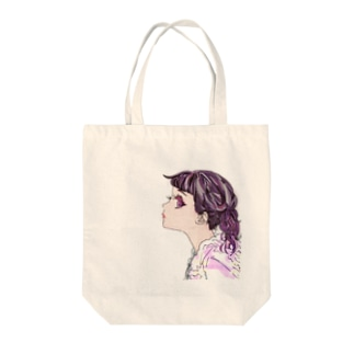 h*s red series Tote bags