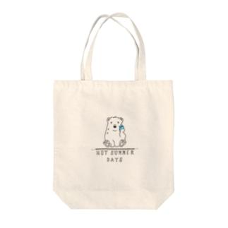 汗っかきベアー Tote bags