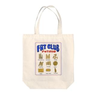 ポテト図鑑 Tote bags