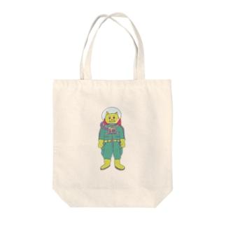 マーシャン Tote bags