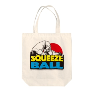 SQUEEZEBALL(ラグビー) Tote bags