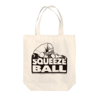 SQUEEZEBALL 2(ラグビー) Tote bags