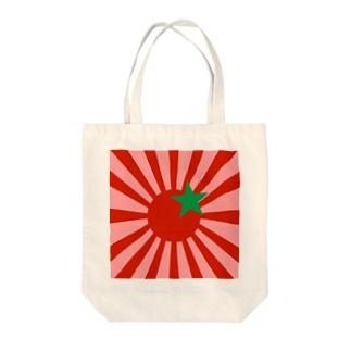 プチトマト旭日旗 トートバッグ Tote bags