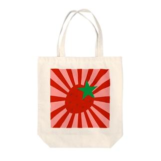 苺旭日旗 トートバッグ Tote bags