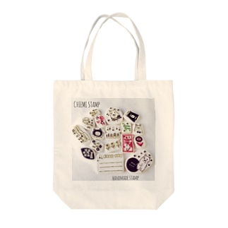 chiemi stamp  Tote bags