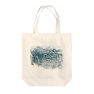 星畑のおじいさん Tote bags