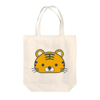 とらちゃん Tote bags