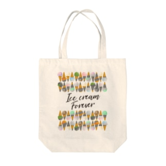 Ice cream Forever Tote bags