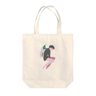 レテの天使 Tote bags
