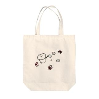 しゃぼんねみちゃん Tote bags