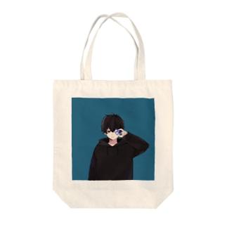 無気力カップル-BLUE2- Tote bags