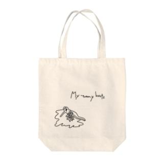臓物垂れ流しベイビー Tote bags