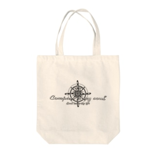 Compass is my soul Tote bags