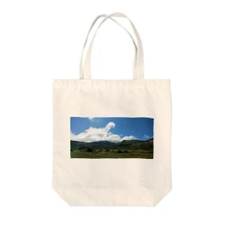 すがすがしい風景 Tote bags