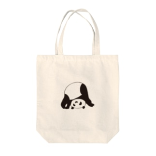逆さまパンダ Tote bags