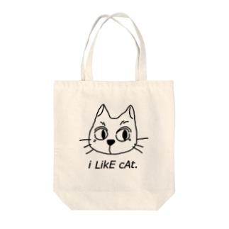I like cats. Tote bags