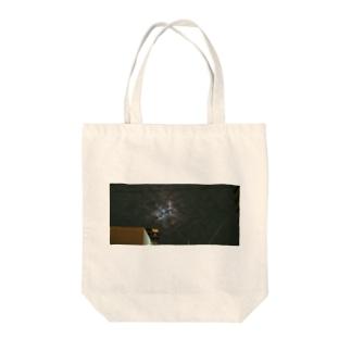 うろこ雲(夜) Tote bags
