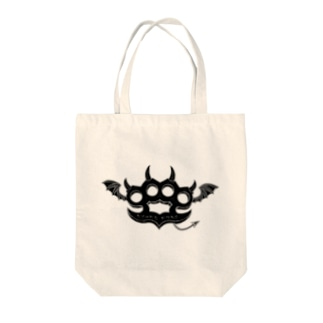 Ryoku-Knuckle devil b-tote トートバッグ
