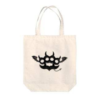 Ryoku-Knuckle devil b-tote Tote bags