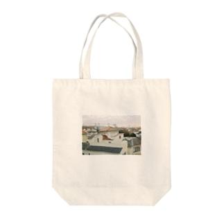 Houses Tote bags