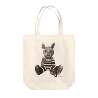 Ruuka-good rabbit - white Tote bags