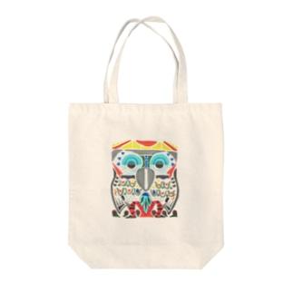 Mitsu-Zoの森の鳥 Tote bags