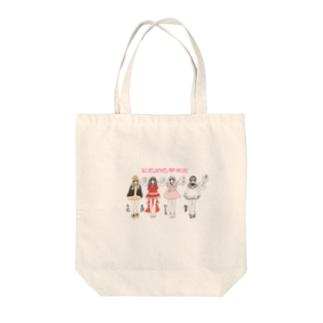 ときめき❤︎水産(みんな) Tote bags