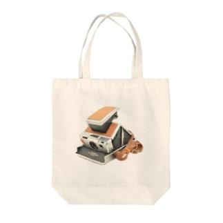 ポラロイド Tote bags