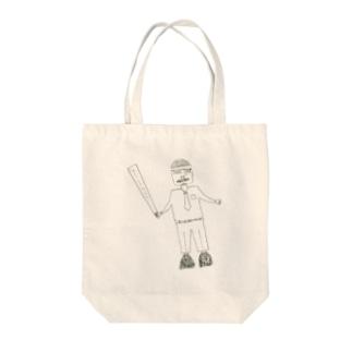 サブカル妖怪シリーズ - リストラリーマン Tote bags