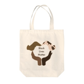 Black Lives Matter/背景なし Tote bags