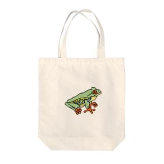 OGNdesignの蛙 カエル NO.9 Tote bags