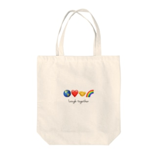Laugh together 2 Tote bags