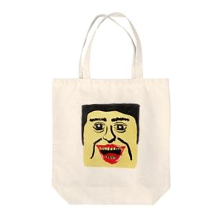 カツ丼屋さんの笑顔の人、Aくん Tote bags