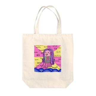 マダム・アマビエール(つよめ) Tote bags
