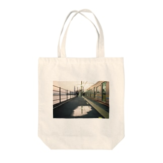 海芝浦駅 Tote bags