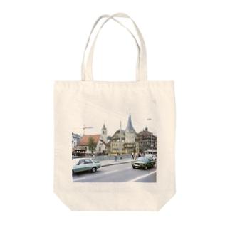 スイス:ルツェルン湖畔の風景写真 Switzerland: Luzern Tote bags